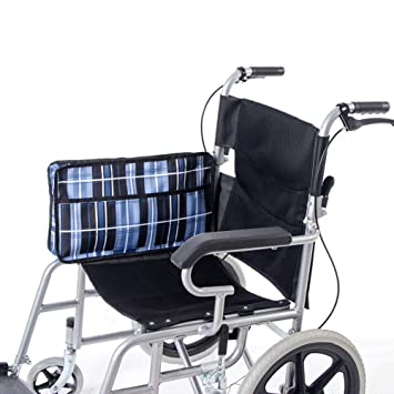 HANSHI HGJ258 - Bolsa lateral para silla de ruedas, organizador lateral para mochila y reposabrazos, varios bolsillos, con marco para caminar: Amazon.es: ...