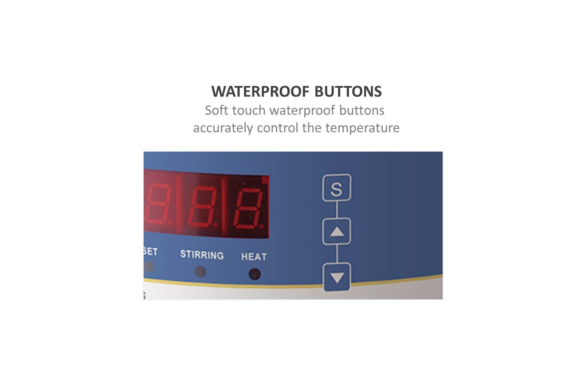 Heating Mantle with Magnetic Stirrer, Digital Temperature Control (5000 ml)
