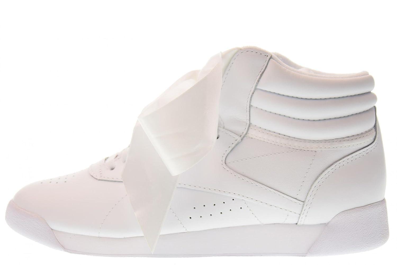 F/s Hi Satin Bow, Zapatillas de Gimnasia para Mujer, Blanco (Whiteskull Grey Whiteskull Grey), 35 EU Reebok