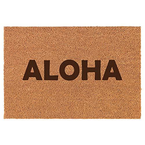 Daylor Coir Door Mat Doormat Aloha