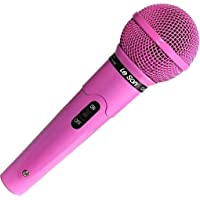 Microfone com Fio Rosa Profissional MC-200 P10 - Leson 2AM00200R