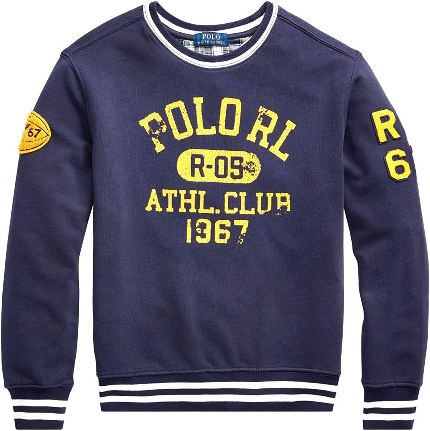 Polo Ralph Lauren - Sudadera SIN Capucha LS CN-TP-KNT-Fall II Navy ...