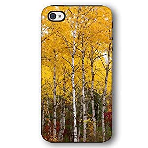 Colorado Birch Trees in the Fall Yellow iPhone 4 and iPhone 4S Armor Phone Case by lolosakes