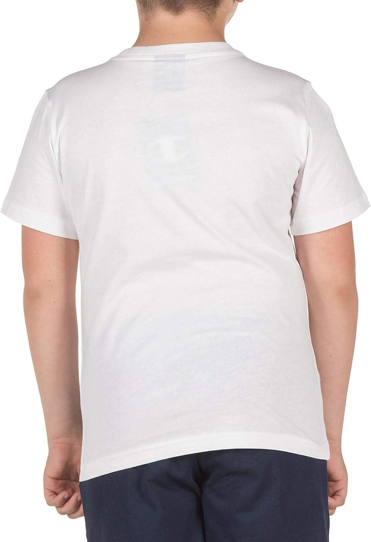 Champion T-Shirt Bambino Bianca 304946WW001