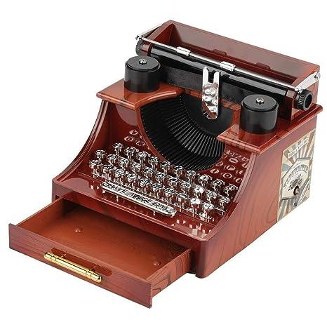 XiaoZou Máquina de Escribir Estilo Retro Mecanismo de ...