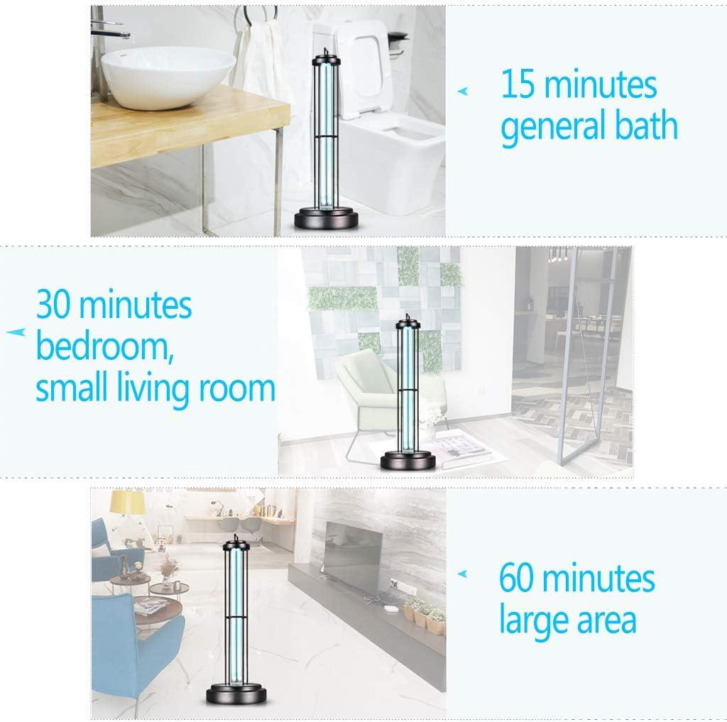 Desinfektionslampe Uv Sterilisator Ozon Lampe Hochleistungs-60-W-360-Grad-Desinfektion UV Haushaltsfernbedienung