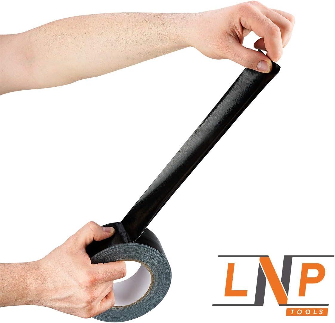 50m x 50mm Extra Stark LNP Tools Profi-Gewebeband 1er Pack f/ür alle Reparaturarbeiten