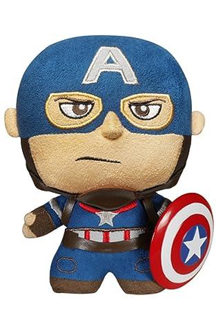 Funko - Peluche Marvel Avengers - Capitán América 15cm fabricación - 0849803050764 - Peluche Los Vengadores