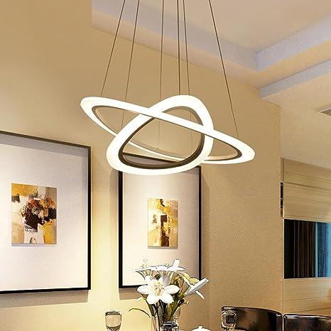 2 de techo LED Anillo Moderno elegante minimalismo redondos ...