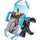 自転車ホルダー スマホホルダ 自転車/バイク用スタンド 携帯ホルダー マウントキット クリップ式ホルダー シリコンバンド GPSナビ 360度回転 二重保護 脱落防止 多機種対応 DBPOWER