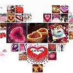 Colorfulife-Simulation-Rose-Petals-1200pcs-Artificial-Silk-Rose-Petal-Flower-Bridal-for-Wedding-Party-Valentine-Supplies-Room-Decoration-Centerpieces-Confetti-5-Purple-Red