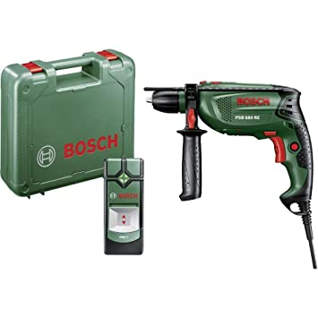 Bosch PSB 680 RE + PMD 7 1-Gang-Schlagbohrmaschine 680 W incl.