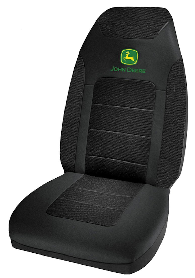 Plasticolor 006906R01 Poly Suede Mesh John Deere Seat Cover
