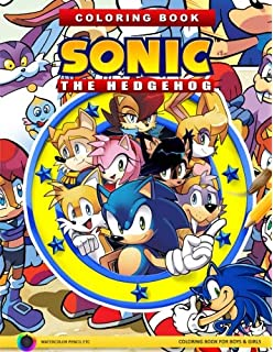 Sonic The Hedgehog Coloring Book With Over 20 Sonic The Hedgehog