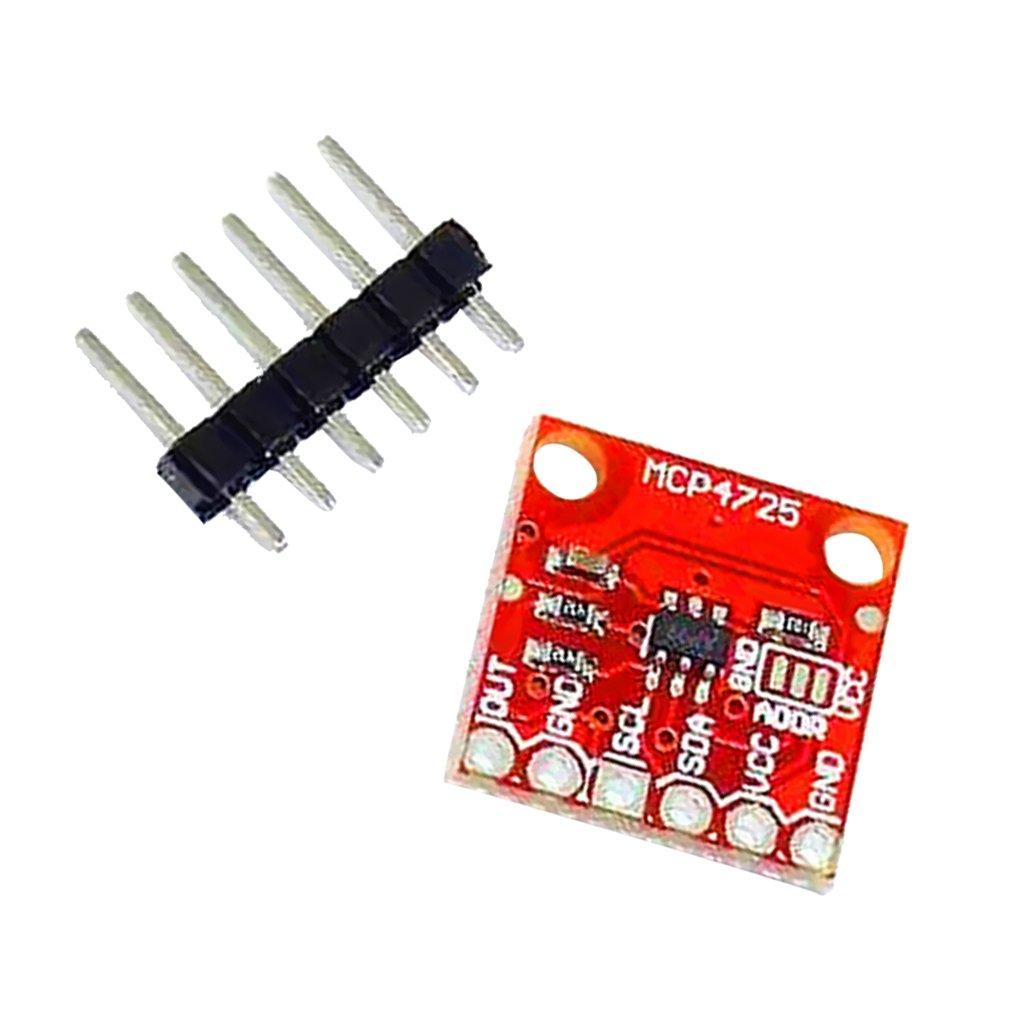 MagiDeal MCP4725 12C DAC Module de Breakout Board de D/éveloppement 12 Bit