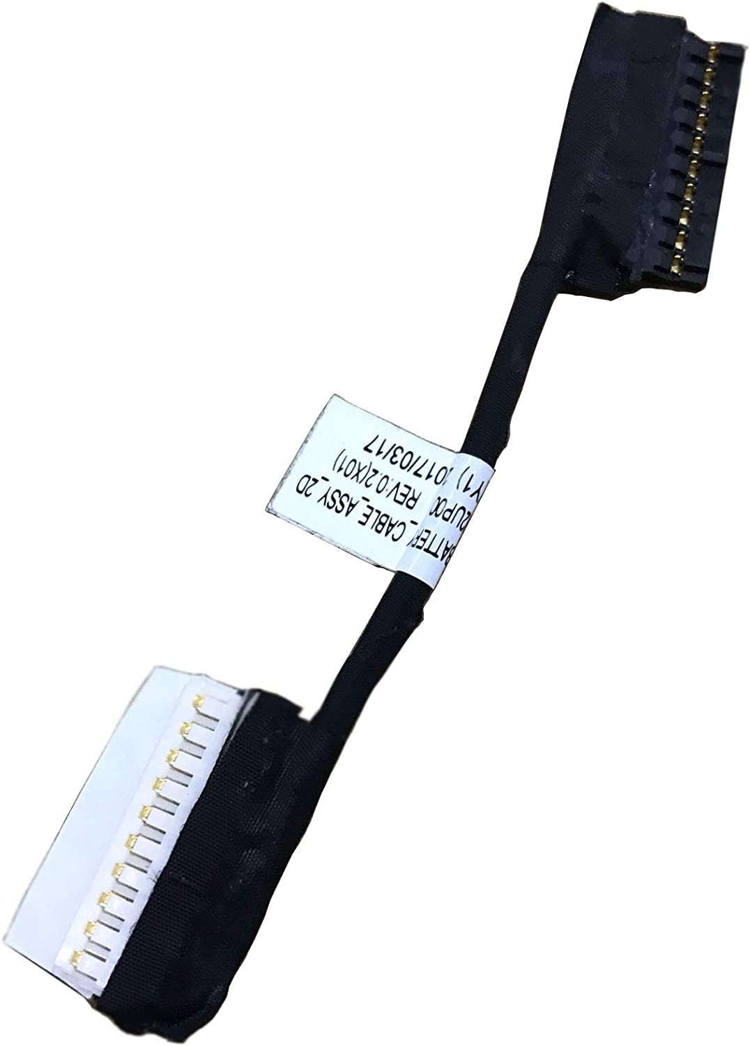 FEMAI Compatible Battery Cable Replacement for Dell NKNK3 Inspiron G7 15 7000 7577 7587 7588 Series Notebook CKF50 0NKNK3 I7588-7378BLK-PUS