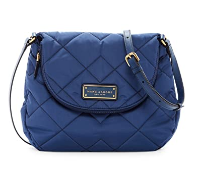 Amazon.com: Marc by Marc Jacobs Natasha Quilted Nylon Crossbody ... : marc jacobs quilted bags - Adamdwight.com
