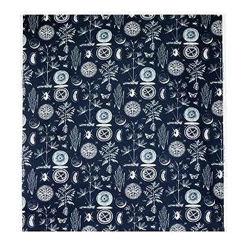 Ikea Stoff ikea blavinge stoff blau weiß meter 150 cm amazon de küche