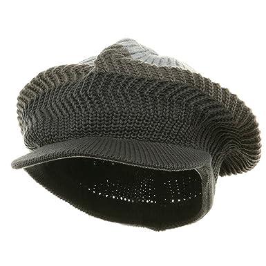 b9ca1c83c7e New Crown Beanie Visor-Grey steel (For Big Head) at Amazon Men s Clothing  store