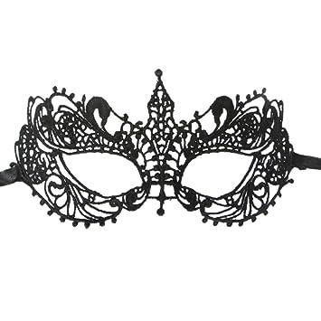coxeer ana masquerade mask for women mardi gras mask lace black