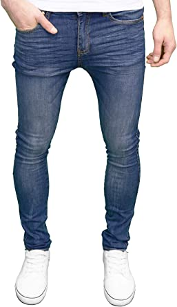 526jeanswear Pantalones Vaqueros Skinny Fit Para Hombre Disponibles En 4 Colores Amazon Es Ropa Y Accesorios