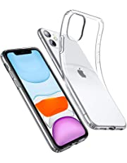 ESR Essential Zero Designed for iPhone 11 Case, Slim Clear Soft TPU, Flexible Silicone Cover for iPhone 11, Clear