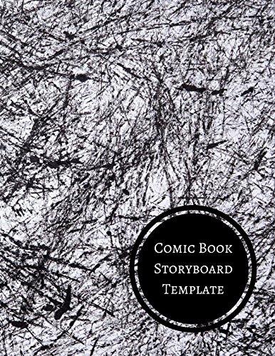Comic Book Storyboard Template