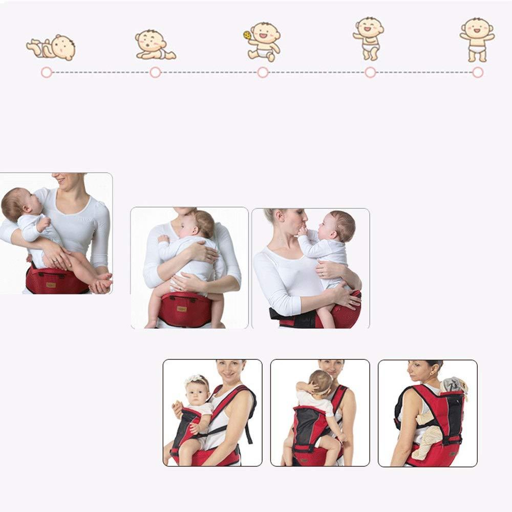 CXYGSJJ K/änguru /& Sling Leichte Babyschale Mit Verstellbarem H/üftsitz F/ür Eltern Und Eltern Farbe : Blau
