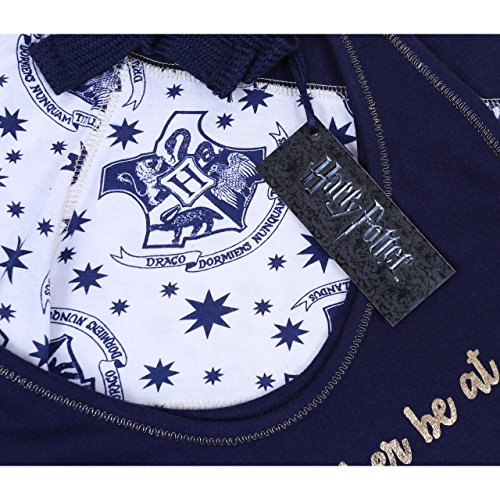 Harry Potter HOGWARTS Top & Shorts Shorty Schlafanzug, Nachtwäsche, kurz Pyjama