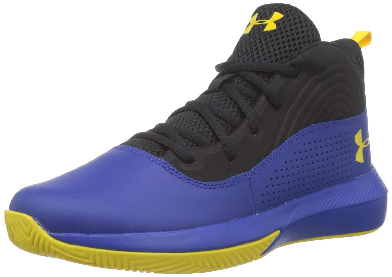 //Black 1 001 Under Armour Unisex-Kids Pre School Lockdown 4 Basketball Shoe