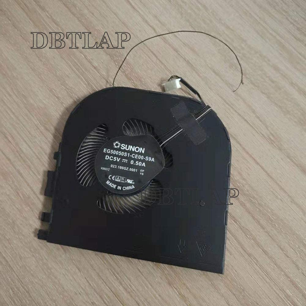 DBTLAP CPU Fan Compatible for ThinkPad X1 Extreme P1 Cooling Fan EG50050S1-CE00-S9A Graphics Card Cooling