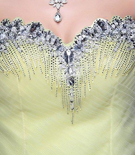 New Emily Ohne Blau Schatz Prinzessin Schlauch Brautkleid Arm Beauty Strass A45Aq