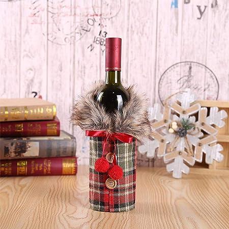 julyso Suéter De Navidad Tapa De La Botella De Vino Diseño Más ...