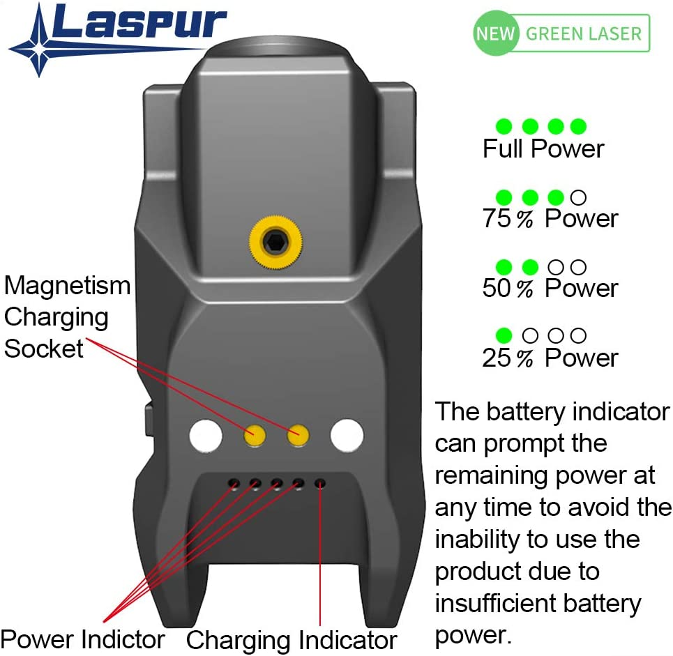 Build-in USB Magnetic Touch Rechargeable Battery Accessory Laspur Sub Compact Tactical Rail Mount Low Profile Laser Sight Remaining Battery Display