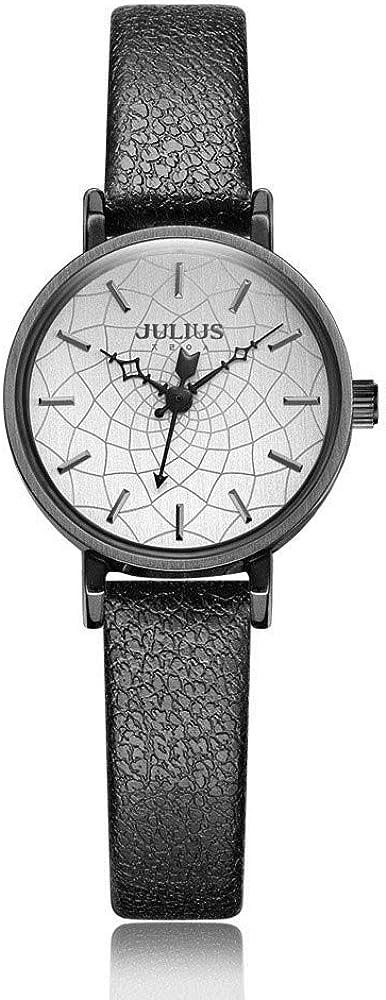 Julius rétro Dames Montre étanche Montre à Quartz de Mode. C