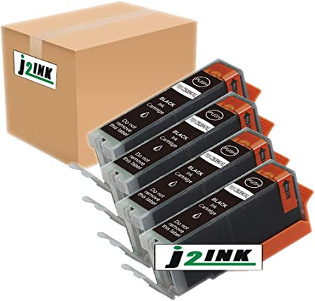 J2INK 9 Pack Ink for Canon CLI-251XL Cyan Magenta Yellow Pixma IP7220 MG5420 MG6320 MX722 MX922
