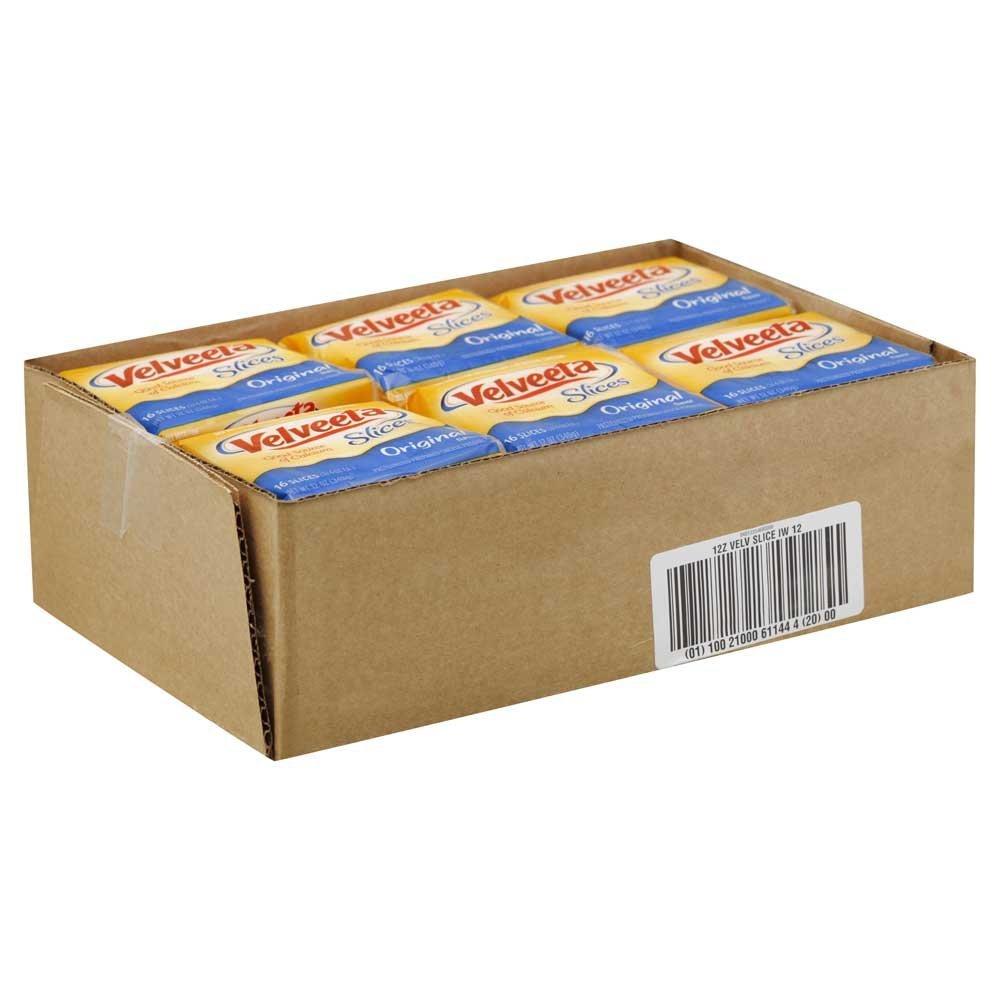Kraft Velveeta Sliced Cheese, 12 Ounce - 12 per case. by Velveeta (Image #3)