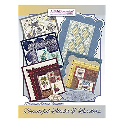 Image of Sewing Anita Goodesign Embroidery Designs Beautiful Blocks and Borders Premium Edition Collection
