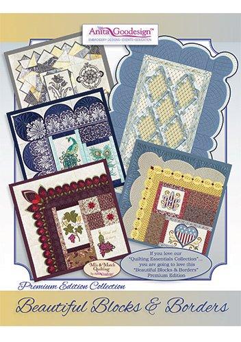 Anita Goodesign Embroidery Designs Beautiful Blocks and Borders Premium Edition Collection