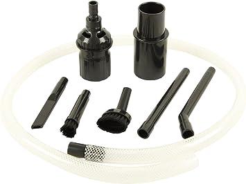 Kit de accesorios para aspiradora para limpieza PC, teclado, coche, etc.: Amazon.es: Coche y moto