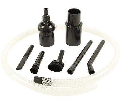 Kit de accesorios para aspiradora para limpieza PC, teclado, coche, etc.