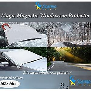starmo pour pare-brise magnétique pare-brise voiture Protège du soleil, glace, neige et le gel tous les temps Shield Film de protection