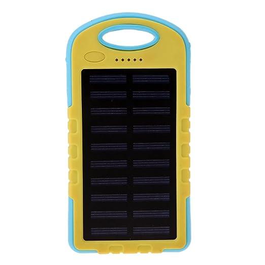 Homyl Dual USB Puertos Cargador Solar Solar Power Bank con ...