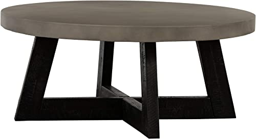 Armen Living Chester Acacia Wood Coffee Table