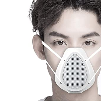 Respiradores inteligentes reutilizables transpirables, con ...