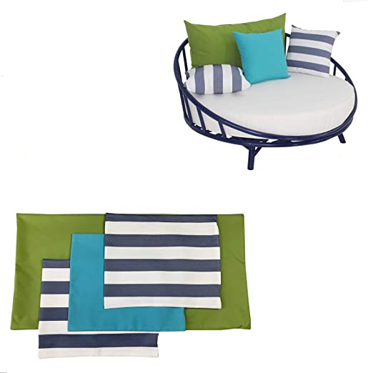 Amazon.com: Funda de lona para sillón redondo: Kitchen & Dining