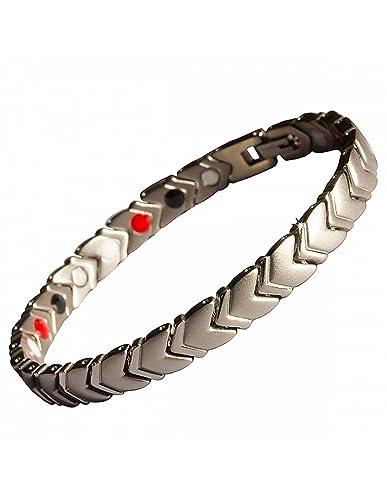 fc9b9b8f18f Axstore Market - Bracelet Magnétique pour Homme en Titane avec aimants  puissants - Outil de réglage