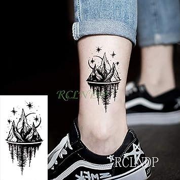 tzxdbh 3pcs Tatuaje Tire Impermeable Etiqueta engomada del Tatuaje ...