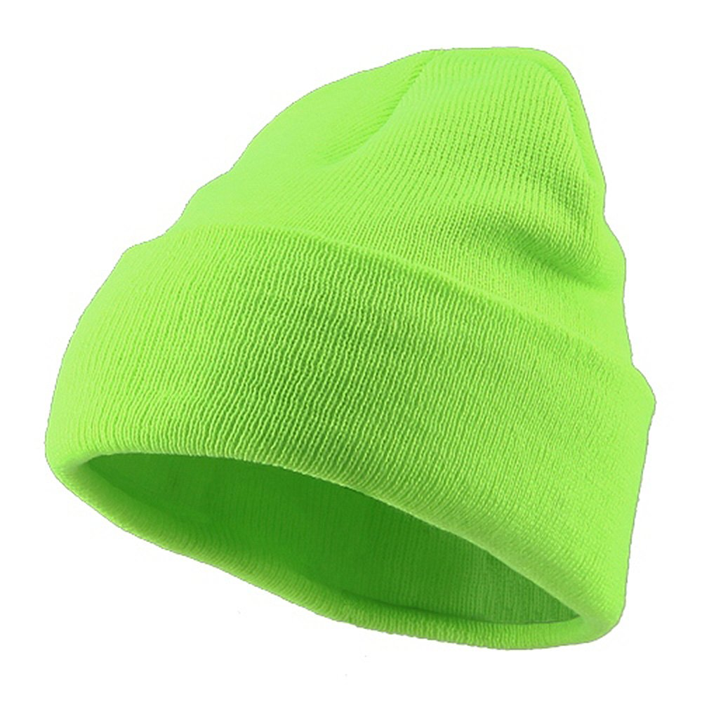 Classic Safety Cuff Beanie - Fluorescent Green at Amazon Men s Clothing  store  Knit Caps 16bcc9f9d3a