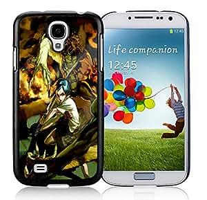 Fashionable DIY Custom Designed Samurai Battle Cover Case For Samsung Galaxy S4 I9500 i337 M919 i545 r970 l720 Black Phone Case CR-549